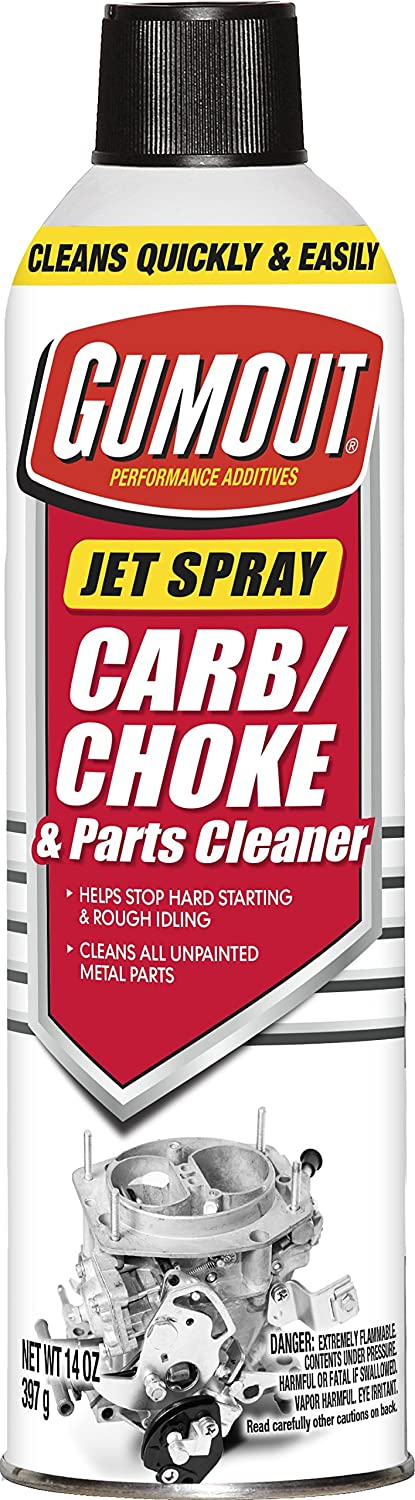 Gumout jet spray carb cleaner