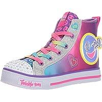 Skechers Kids Girls' Twinkle LITE-Happy PALS Sneaker