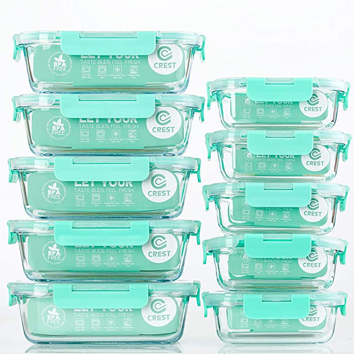 Top 9 Plastic Food Storage Reusable Microwavable 3 Compartment Mea