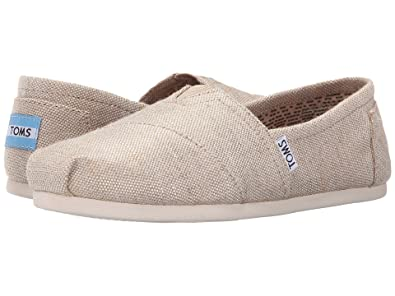 bc15b2f50a1 Image Unavailable. Image not available for. Color  TOMS Women s Seasonal  Classics Natural Metallic Burlap 7