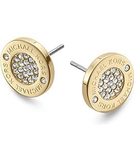 Michael Kors 241665-00 Women's Earrings MKJ5337710, Gold