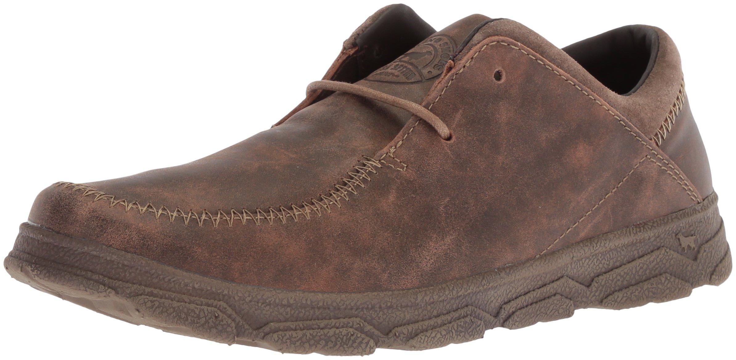 Irish Setter Men's Traveler 3806 Oxford Boot, Brown, 11 2E US
