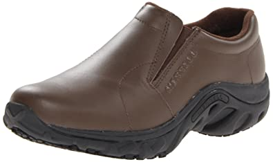 705cbba1de Amazon.com: Merrell Women's Jungle Moc Pro Grip Slip-Resistant Work ...