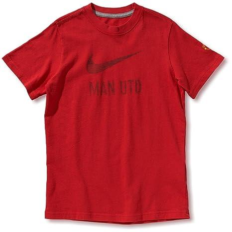 Diablo T Nike United Red Shirt Rouge Garçon Basic Pour Manchester FBgafgRqwT