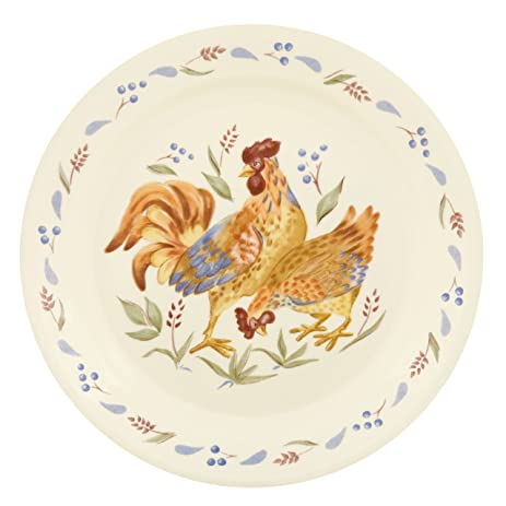 Amazon.com | Corelle Impressions Country Morning 9-Inch Luncheon ...