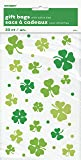 Saint Patrick's Day Lucky Shamrock Cellophane Bags, 20ct