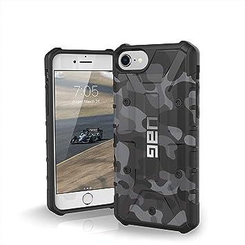 Urban Armor Gear Pathfinder Funda para iPhone 8/7 / 6S Carcasa Militar Estadounidense Case (Compatible con inducción, Resistente a los Golpes) - Negro ...