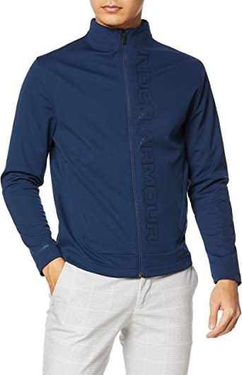 Details about  /NWT UNDER ARMOUR Size M Men/'s  Full Zip Storm Loose HeatGear Wind Jacket .