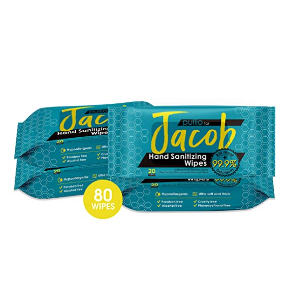 Baosk Best Cleaning Hand Wipes 1 Pack with 60 Wipes Hand Wipes 100pc Cotton Pieces Cleaning Wipes for Adults Daily Cleaning Skin Toys Wipes