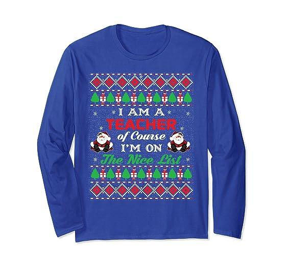 unisex teacher christmas shirt ugly chirstmas teacher t shirts small royal blue