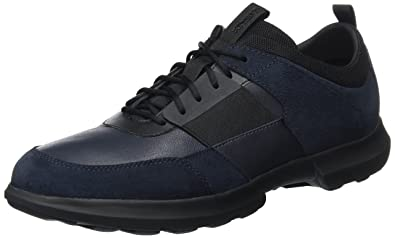 Mens U Traccia B Faible Top Sneakers Geox KtkuRdd