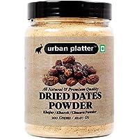 Urban Platter Dried Date Powder (Kharek Powder), 300g [All Natural, Premium Quality, Healthy Sweetener]