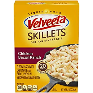 Velveeta Skillets Chicken Bacon Ranch Dinner Kit, 11.5 oz Box
