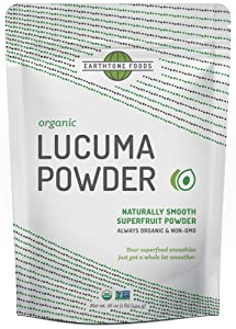 Lucuma Powder Organic | Premium Peruvian USDA & Paleo Certified Raw Vegan Superfood - Natural Sweetener - Perfect for Smoothies, 16 Ounces