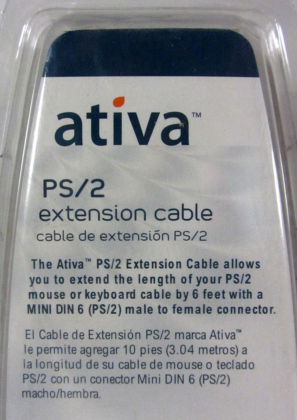Amazon.com: Ativa 6-feet PS/2 Keyboard/Mouse Extension Cable: Computers & Accessories