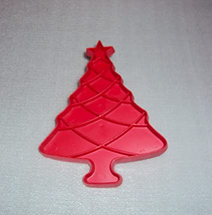 Amazon Com Vintage Christmas Tree Tupperware Cookie Cutter 4 1 2