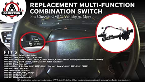 steering column installation, amazon com: multi-function combination  switch - turn signal,