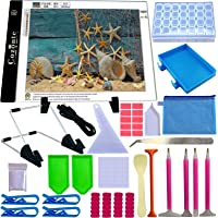 A4 LED Light pad, Cozonte Diamond Painting Light Pad Apply to DIY 5D Diamond Painting, See Symbols and Numbers Clearer…