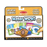 Melissa & Doug Water WOW Kit (Numbers, Colors and Shapes)