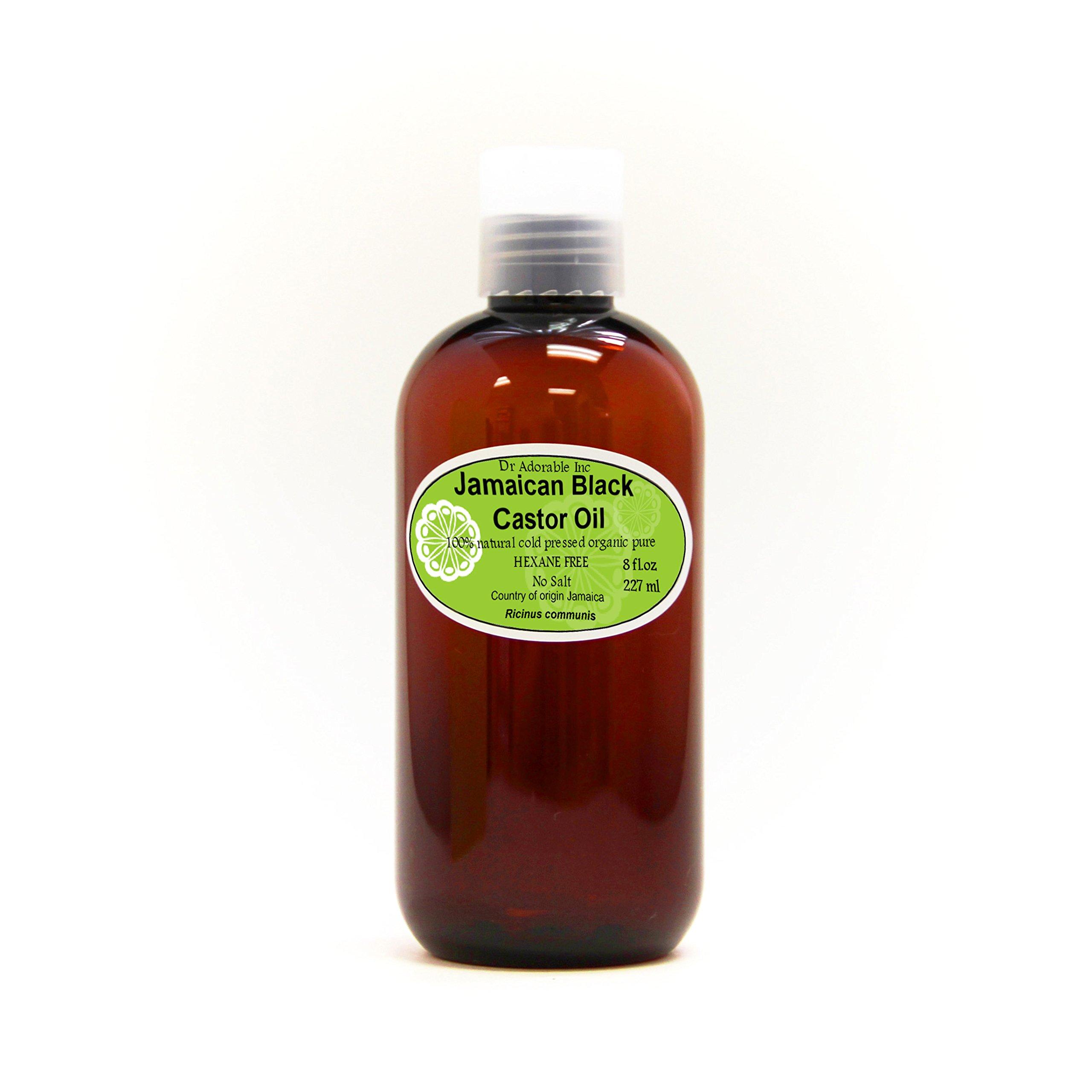 Jamaican Black Castor Oil Premium Best Natural Pure Organic Strengthen Grow & Restore Hair Care 8 oz