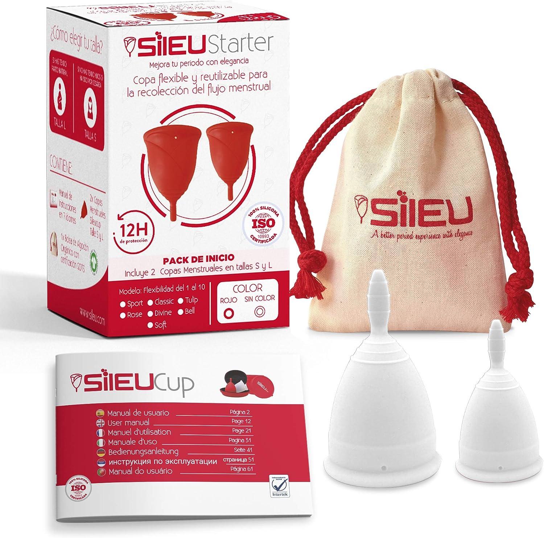 Copa Menstrual Sileu Cup Classic - Alternativa ecológica y natural ...