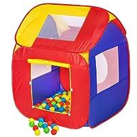 TecTake Tente de jeux pour enfant + 200 Balles POP-UP