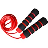 Limm Jump Rope - Perfect For All Experience Levels, Cardio, Home Workouts, Cross Fitness, Weight-loss, Gym & More - Easily Adjustable - Comfortable Anti-Slip Handles - For kids and adults!
