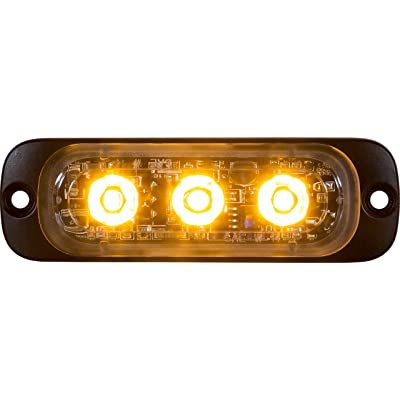 Buyers Products 8892300 Amber LED Strobe Light (3-3/8in): Automotive