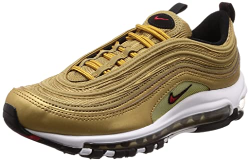 Nike Air Max 97 QS Black Metallic Gold | AT5458 100 | IMPACT PREMIUM
