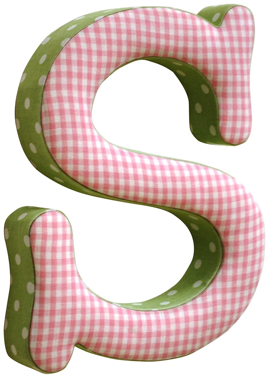 Amazon.com: New Arrivals The Letter S, Pink and Green: Baby