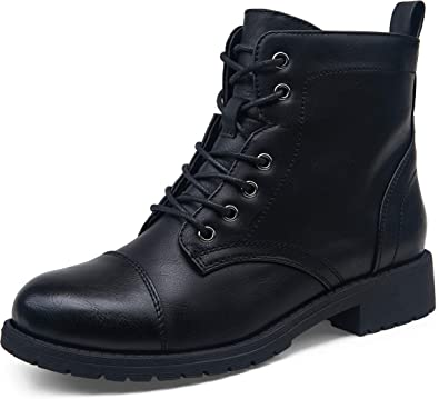 Fashion Ankle Booties Combat Boots