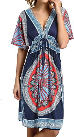 Cherry Cat Colorful Cut Loose Swimsuit Cover Ups Swim Cover Ups Plus Size Clothing Beach Dress Navy At Amazon Women S Clothing Store