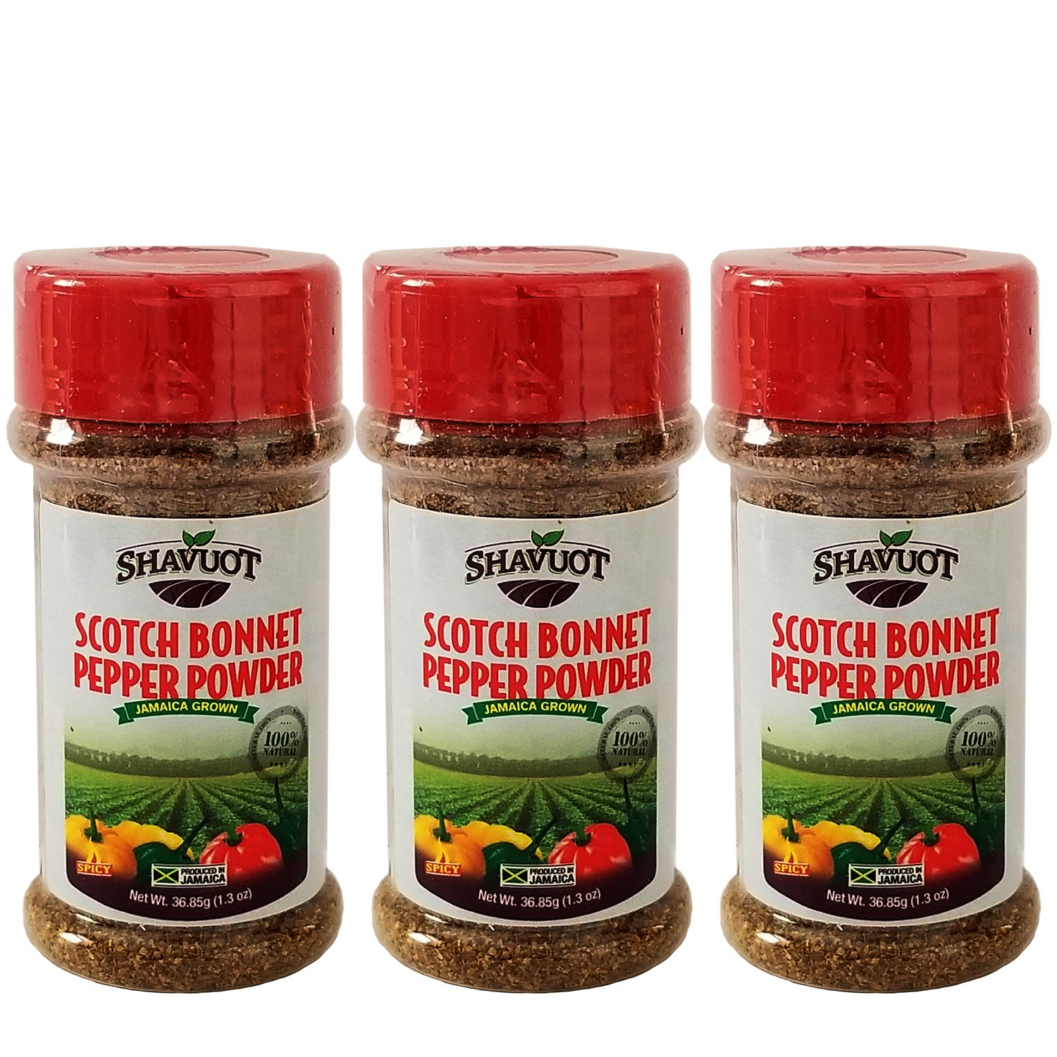 Shavuot Scotch Bonnet Pepper Powder (Pack of 3)