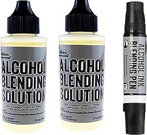 Ranger Adirondack Alcohol Ink Fillable Pen (Blending Pen and Solution)