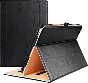 LG G Pad II 10.1 Case/LG G Pad X 10.1 Case - ProCase Leather Stand Folio Case Cover for G Pad 2 10.1 and X 10.1 (V940N V930), with Multiple Viewing Angles, Document Card Pocket (Black)