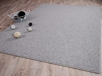 Unbekannt Natur Teppich Wolle Berber Grau Meliert In 24 Grossen