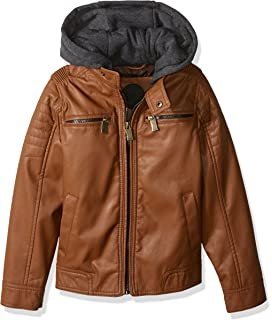 Amazon.com: Urban Republic Kids Mens Harry Faux Leather ...