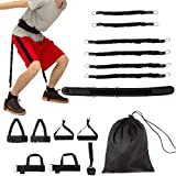 Clothink Jump Trainer Resistance Bands Set, Exercise BandsVertical Jump Training for Basketball Football Volleyball Training