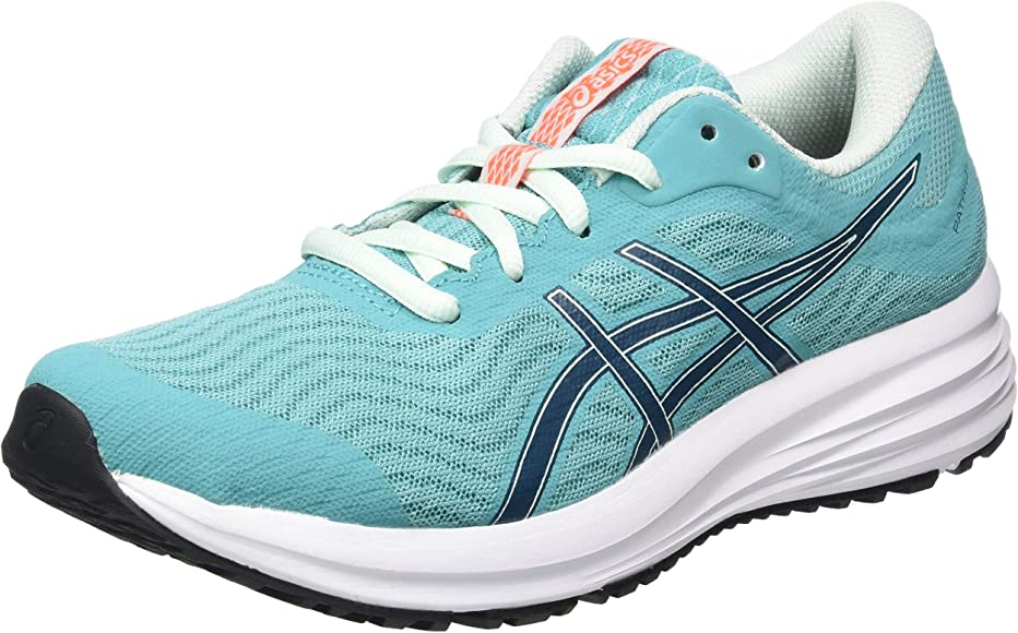 ASICS Patriot 12, Zapatillas para Correr para Mujer, Techno Cyan Magnetic Blue, 35.5 EU: Amazon.es: Zapatos y complementos