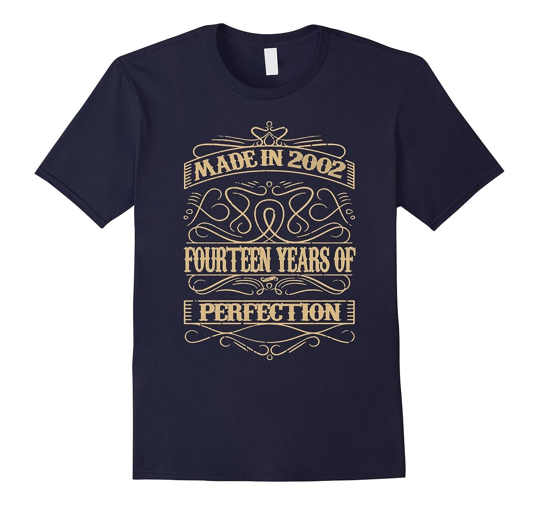14th Birthday Gift Idea 14 Year Old Girl Boy T-Shirt-CL