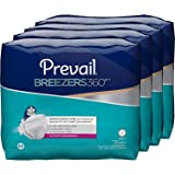 Prevail Breezers 360 Ultimate Absorbency Incontinence Briefs, Size 3, 15-Count (Pack of 4)