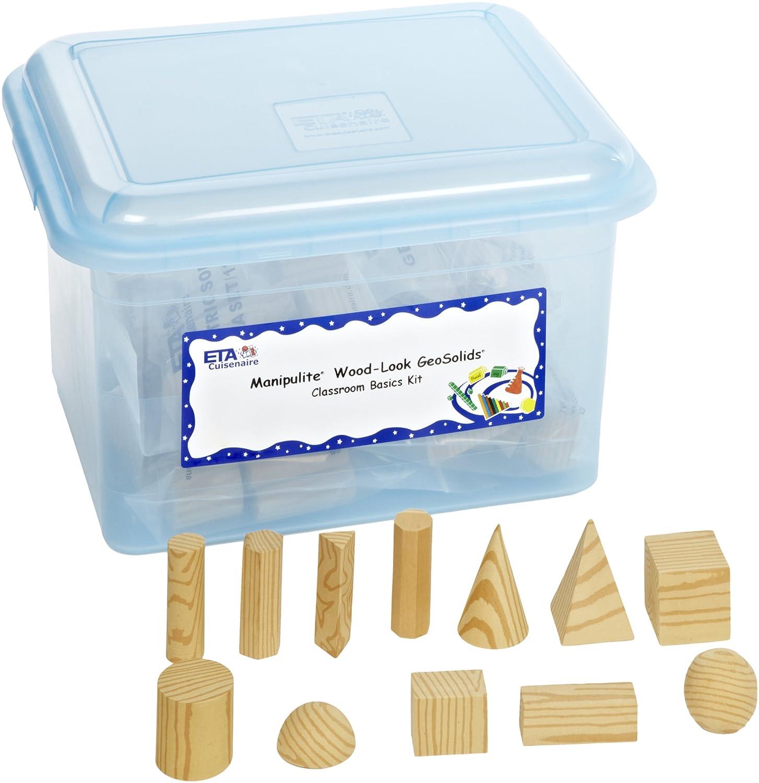 数量限定セール  ETA Foam hand2mind Foam B008N1BPHA wood-look幾何ソリッドブロック教室キット ETA B008N1BPHA, 知夫村:de5bacc3 --- diceanalytics.pk