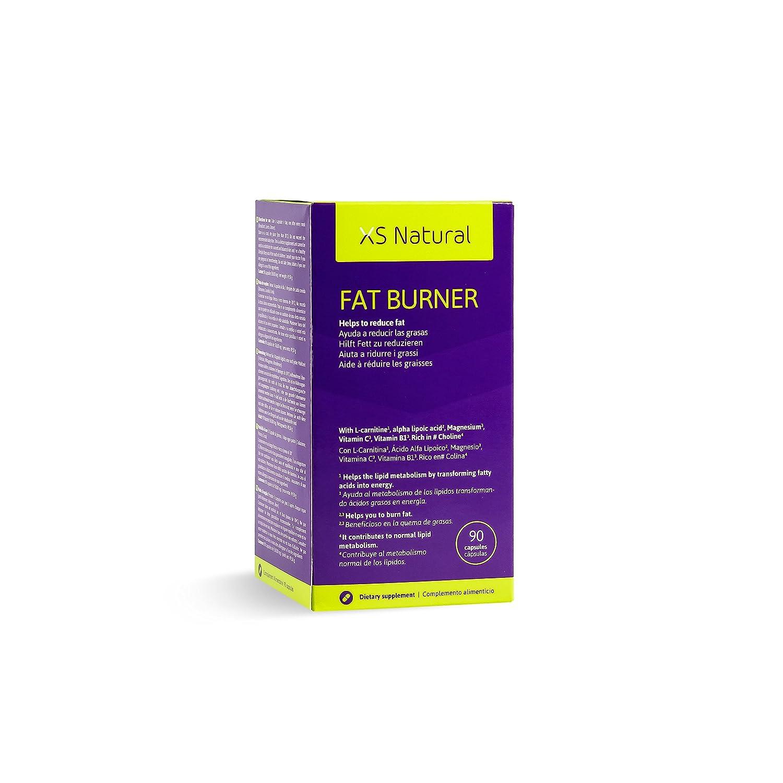 3 XS Natural Fat Burner: Cápsulas quemagrasas que ayudan a perder peso: Amazon.es: Salud y cuidado personal