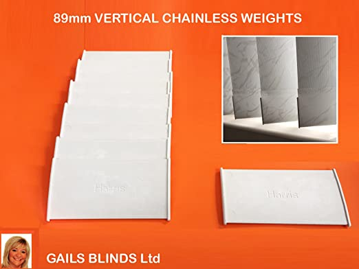 89mm Spare Parts Vertical Blind Chainless Bottom Weights Child /& Pet Safe