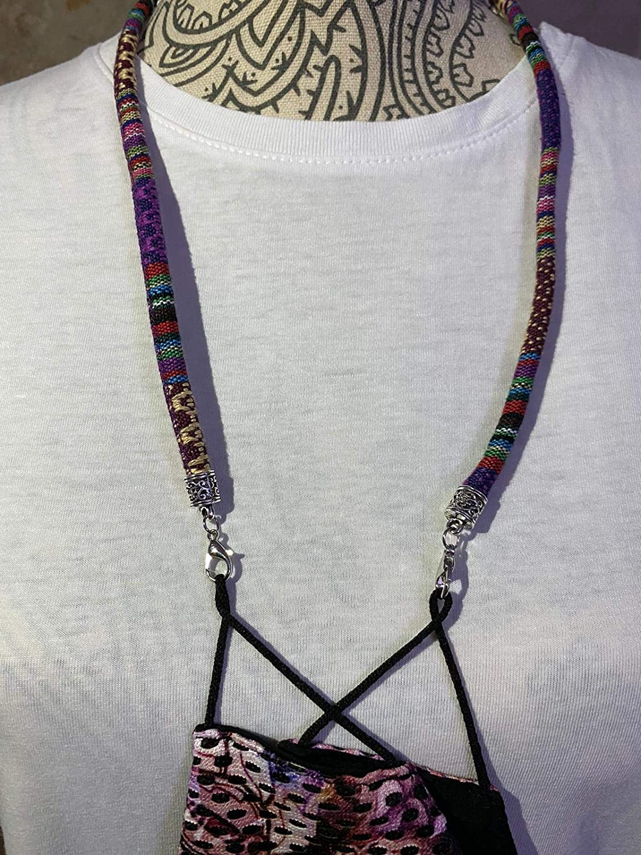 Cordoncino Cinghia diversi colori e modelli conf1zione da 3 pezzi Ciondolo per maschera Vipar 1