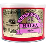 Hand-made Greek Halva with Vanilla from Macedonia 500g sealable tin