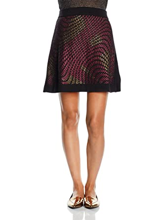 M Missoni Falda Lana Negro/Rosa ES 38 (IT 42): Amazon.es: Ropa y ...