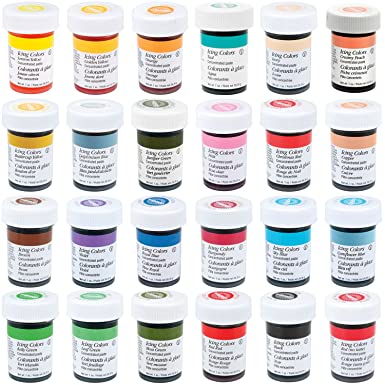 Wilton Master Icing Color Set (Includes ALL 28 Wilton Icing Colors ...