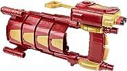 Lançador de Dardo Nerf Marvel Capitão América Guerra Civil Protetor de Braço do Homem de Ferro Hasbro Vermelho/Amarelo