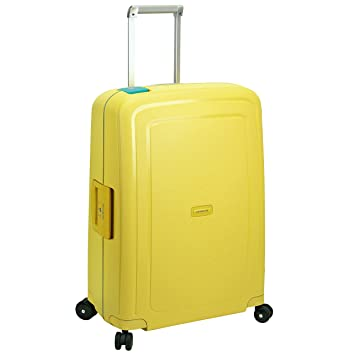 Samsonite SCure Spinner Maleta a 4 ruedas 69 cm lemon cielo blue